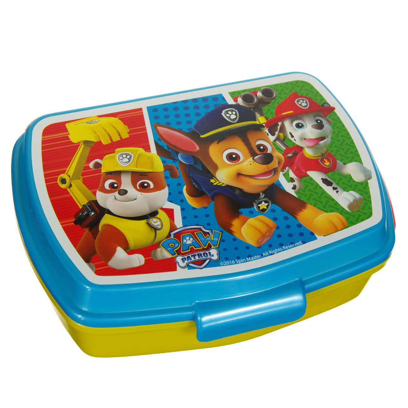 SANDWICHERA RECTANGULAR PAW PATROL