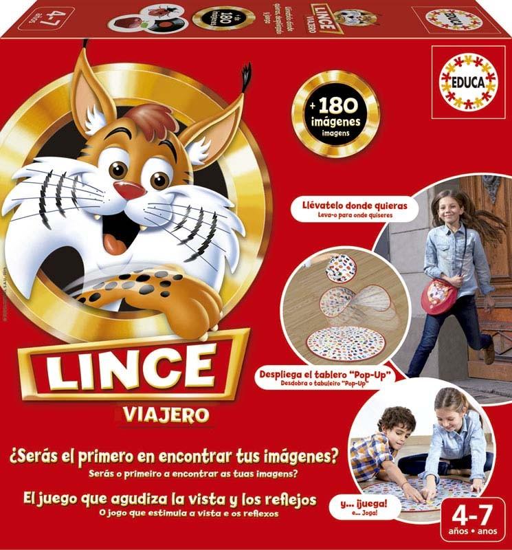JUEGO LINCE VIAJERO¬