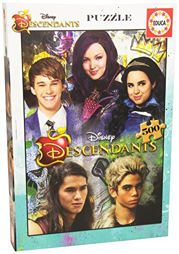 PUZZLE DESCENDANTS 500piezas