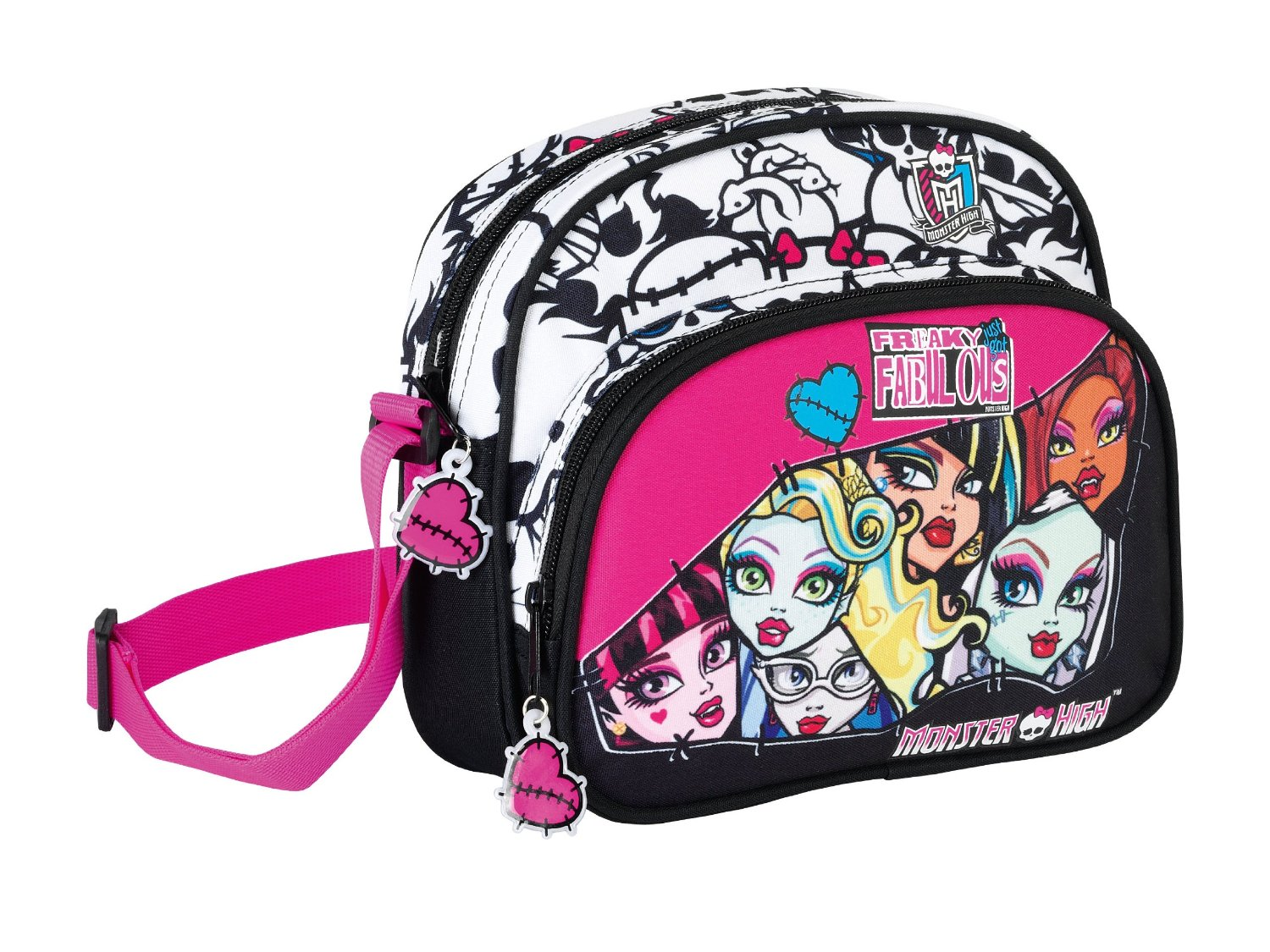 Monster High Bolsito Bandolera 23 Cm