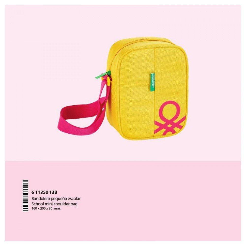 Benetton Yellow - Bandolera Pequeña 16 cm