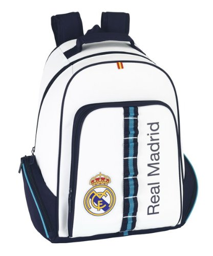 Real Madrid - Day Pack Multibolsillos Adaptable a Carro