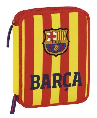 F.C. Barcelona Senyera - Plumier Doble Grande 56 piezas