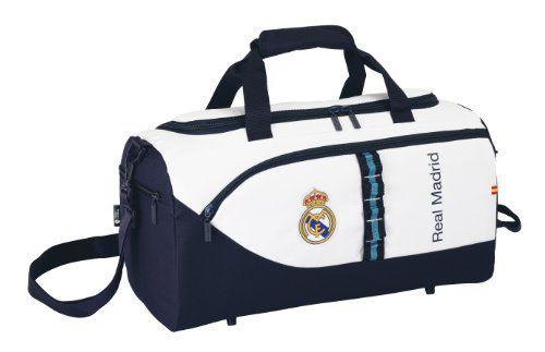 **OFERTA** Real Madrid C.F. - Bolsa deporte 50x25x25 cm