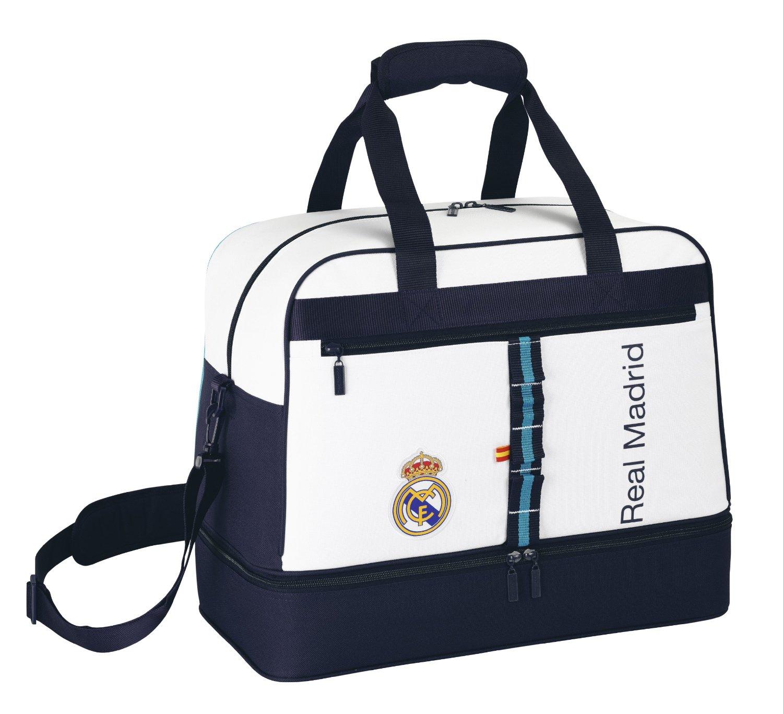 Bolsa con zapatillero Real Madrid C.F.