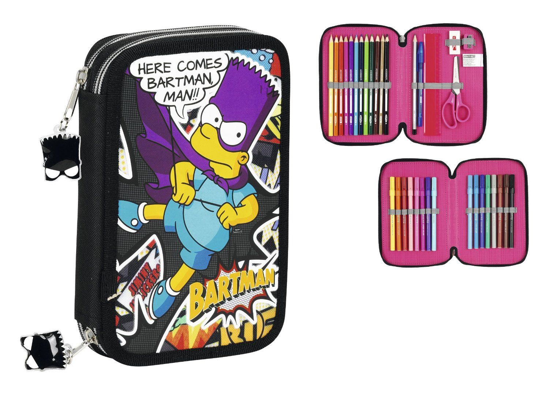 Simpsons - Plumier doble pequeño