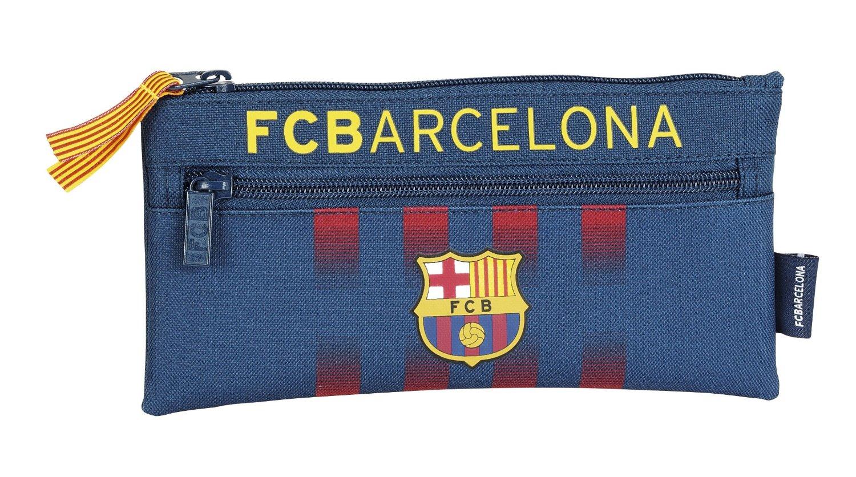 F.C. Barcelona - Portatodo con 2 cremalleras (Safta 811425029)