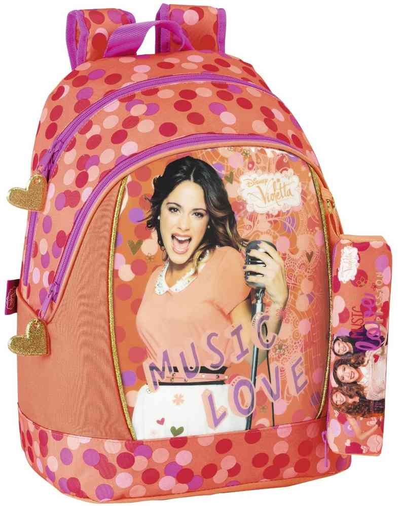 **BLACK FRIDAY** Mochila Violetta Disney con estuche