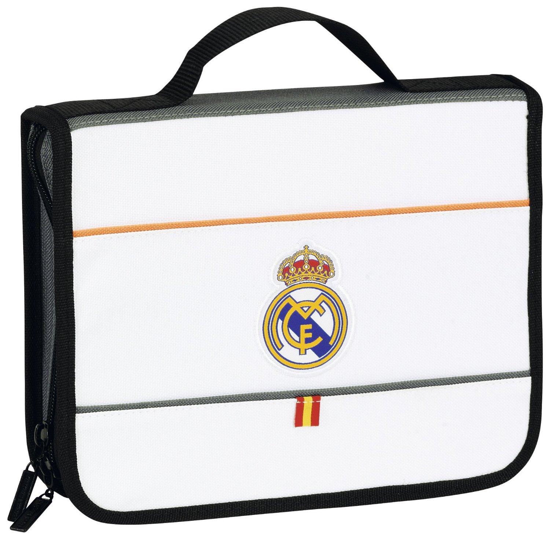 Real Madrid - Maletín de dibujo grande, diseño Classic