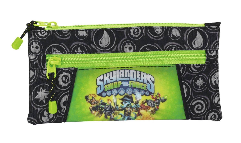 Skylanders - Portatodo con dos cremalleras
