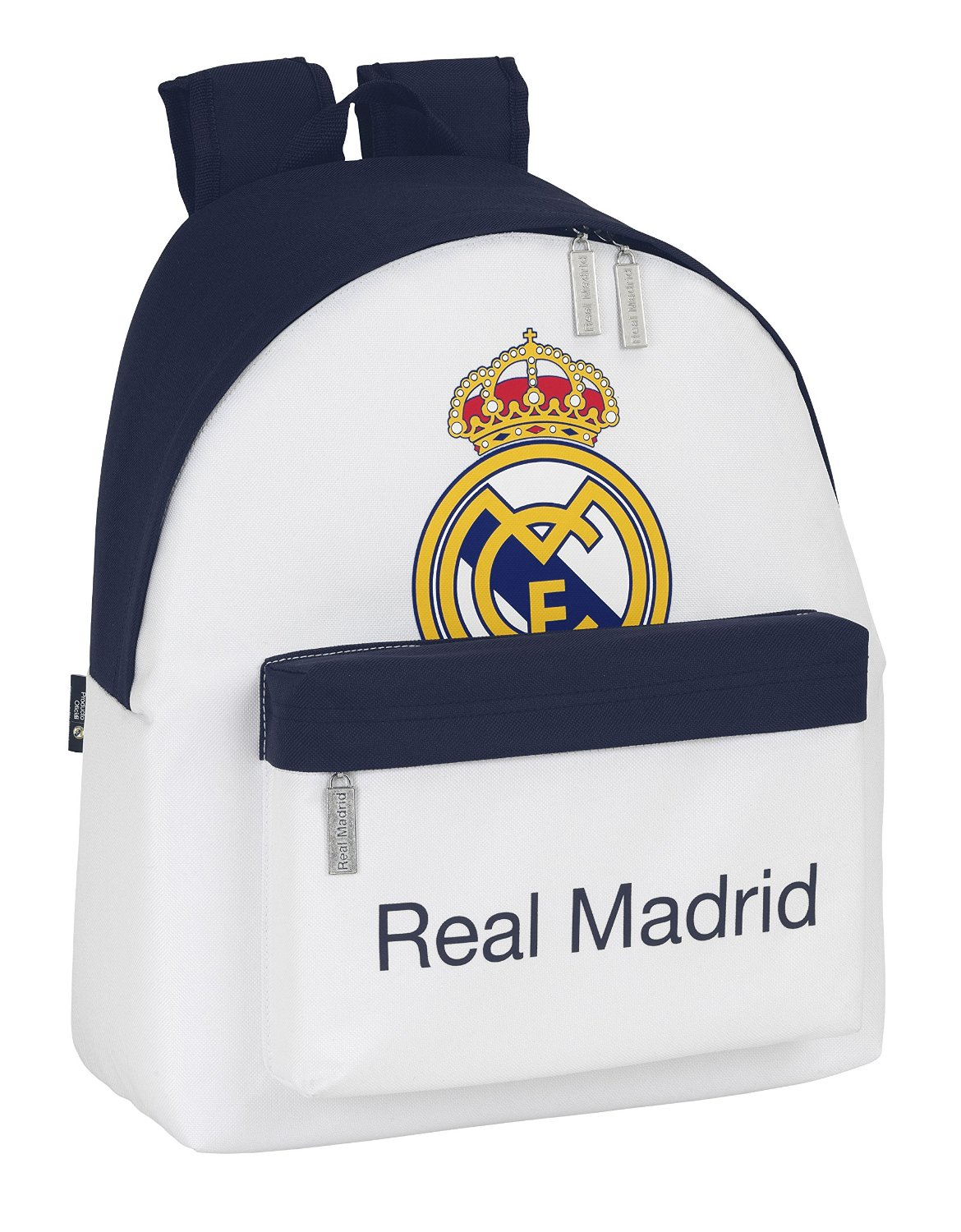 Real Madrid - Mochila, color blanco