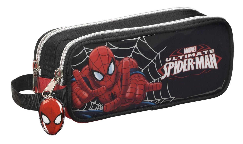 Spider-Man - Portatodo doble, 21 x 8 x 6 cm