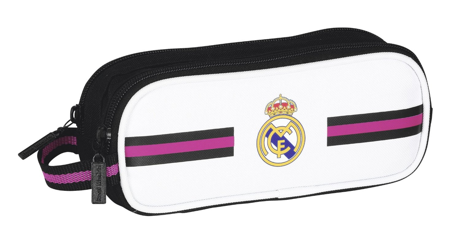 Safta - Portatodo doble Real Madrid, 21 x 8 x 6 cm (811457513)