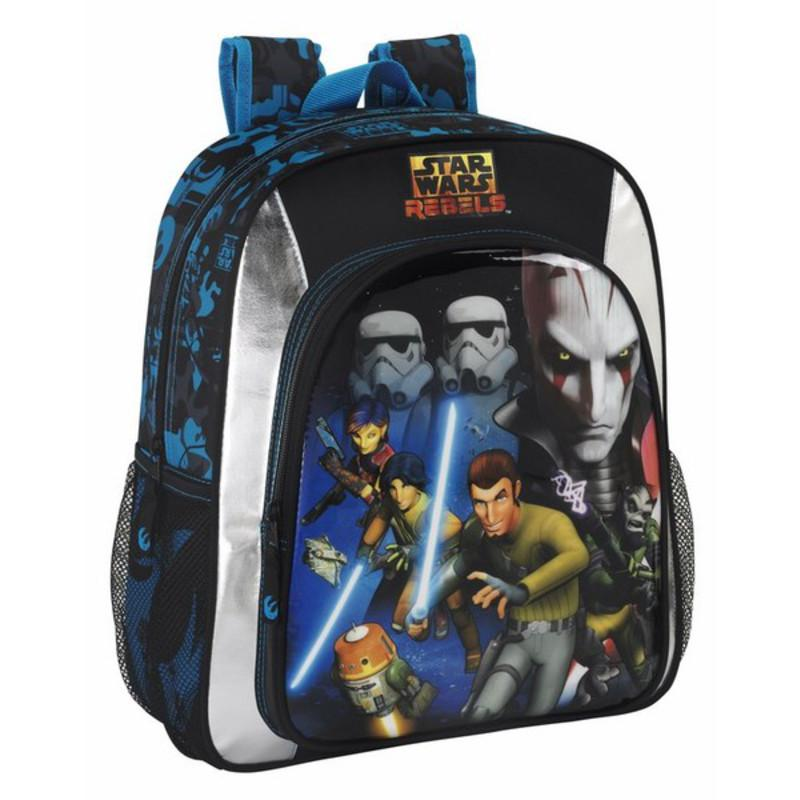 MOCHILA JUNIOR STAR WARS REBELS ADAPTABLE
