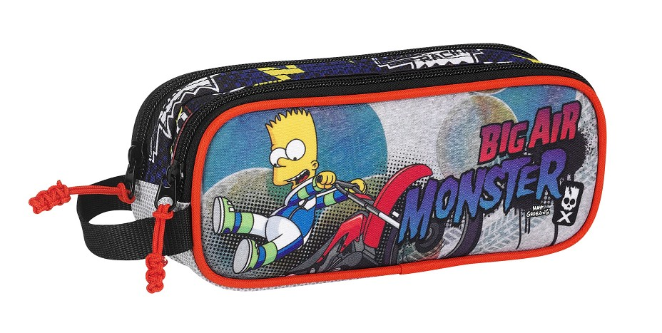 PORTATODO DOBLE SIMPSONS BIG AIR MONSTER