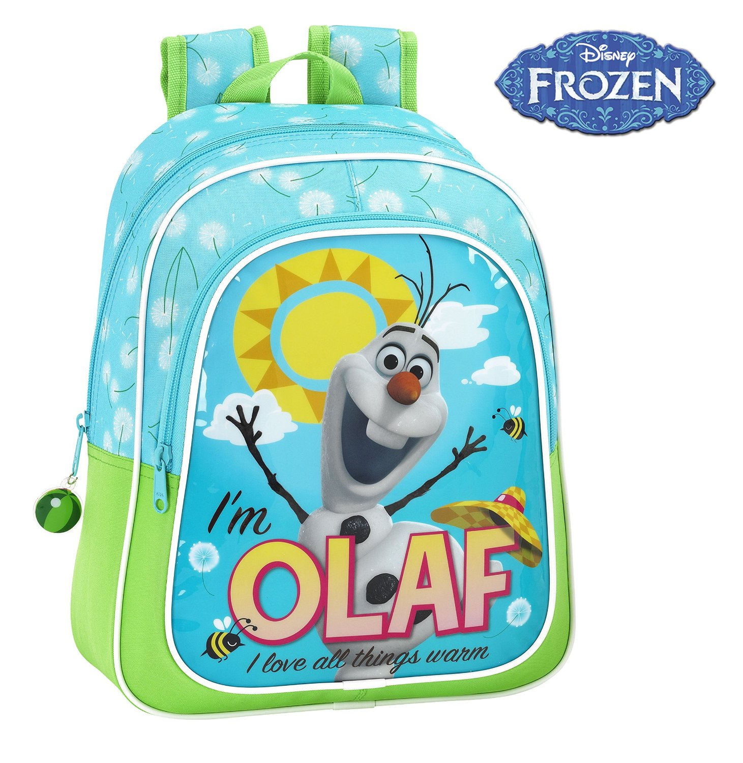 MOCHILA INFANTIL OLAF FROZEN DISNEY ADAPTABLE