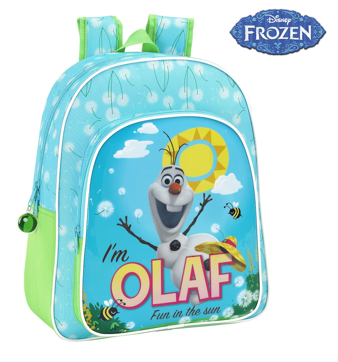 MOCHILA JUNIOR OLAF FROZEN DISNEY ADAPTABLE