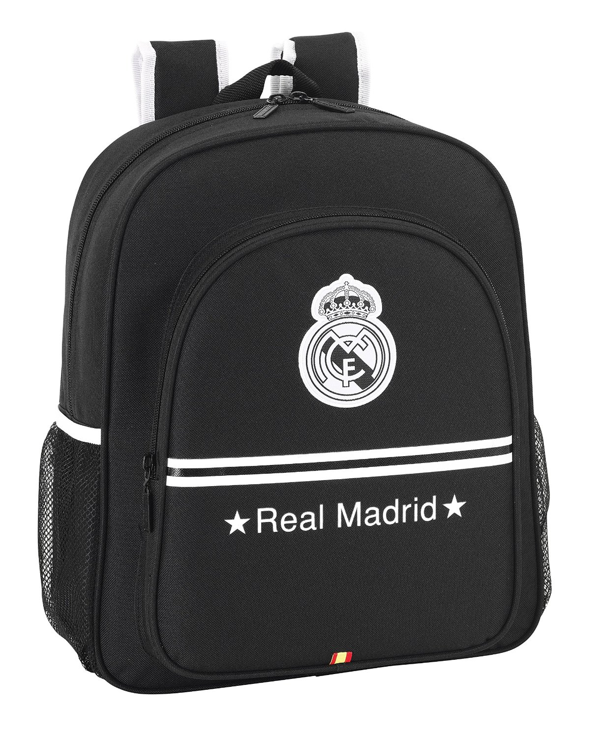 OFERTA Mochila junior adaptable Real Madrid Negro