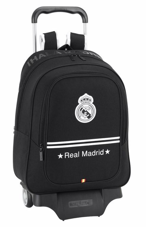 OFERTA Mochila carro grande Real Madrid negro