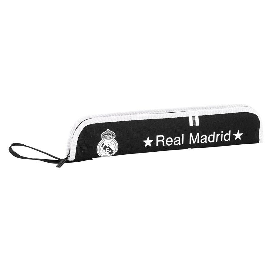 PORTAFLAUTAS REAL MADRID NEGRO