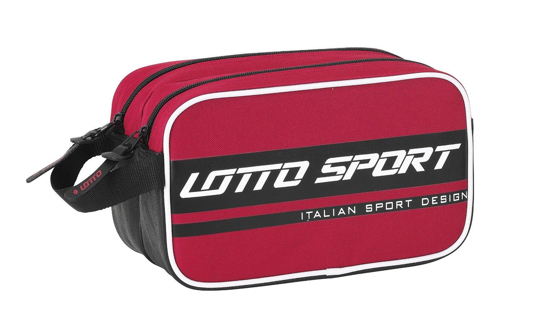 Lotto - Neceser adaptable, diseño Sport, 26 x 15 x 13 cm