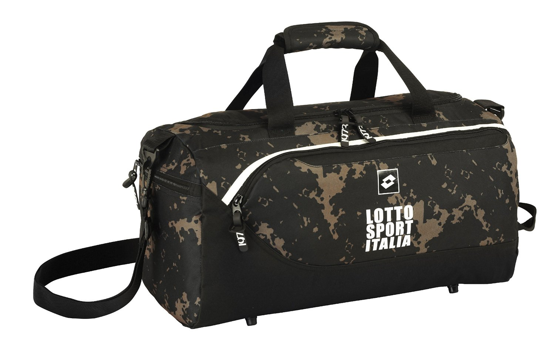 Lotto - Bolsa de deporte/viaje con diseño Italia, 50 x 25 cm