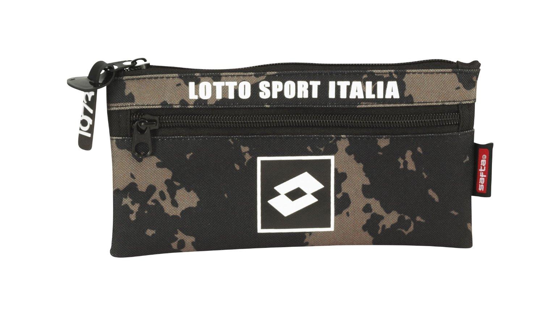 Lotto - Portatodo doble, diseño Italia, 22 x 11 cm