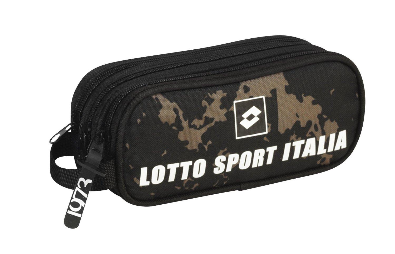Lotto - Portatodo doble, diseño Italia, 21 x 8 x 6 cm