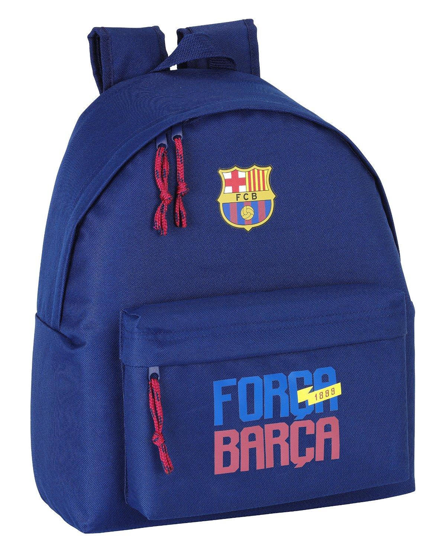 F.C. Barcelona - Mochila, 32 x 40 cm, color marino