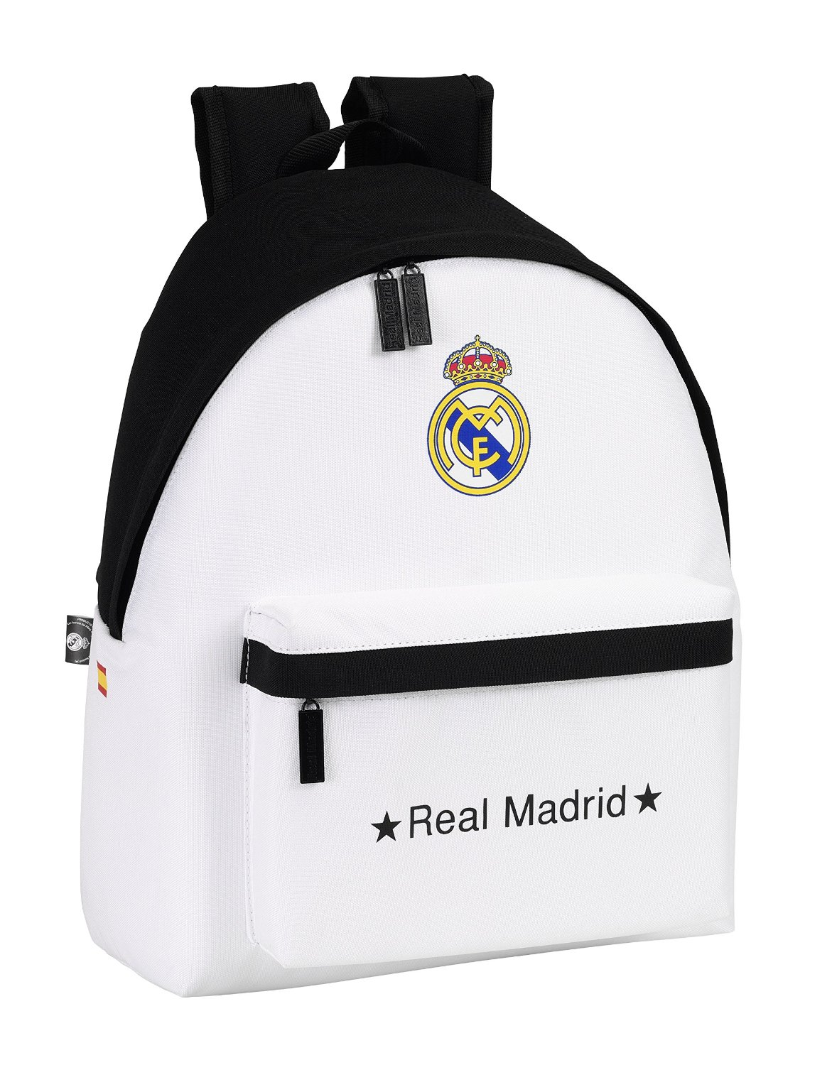 OFERTA Mochila Real Madrid color blanco negro
