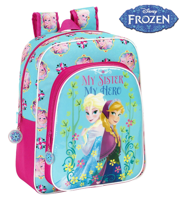 Frozen - Mochila junior adaptable, 32 x 38 cm (Safta 611515640)