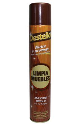 SPRAY LIMPIA MUEBLES DESTELLO 300ml