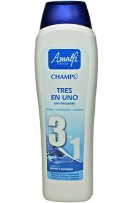 CHAMPU 3 EN 1 AMALFI 750ml