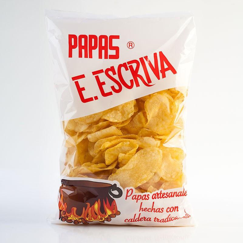 PATATAS FRITAS ESCRIVA 180 GRMS.