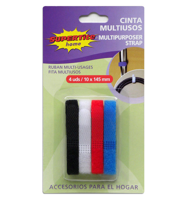 CINTA MULTIUSOS VELCRO 10 X 145 mm