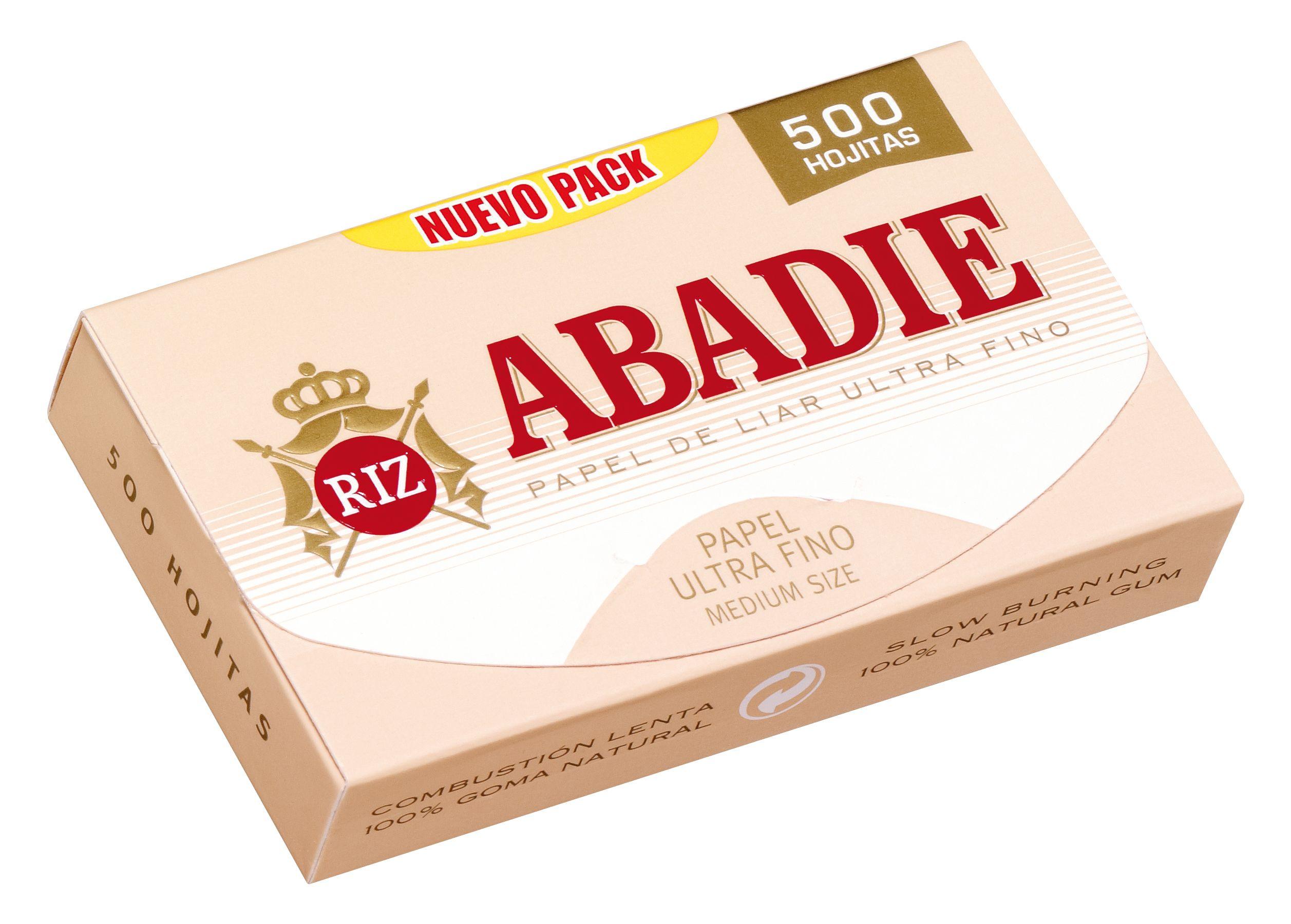 PAPEL DE FUMAR ABADIE 500