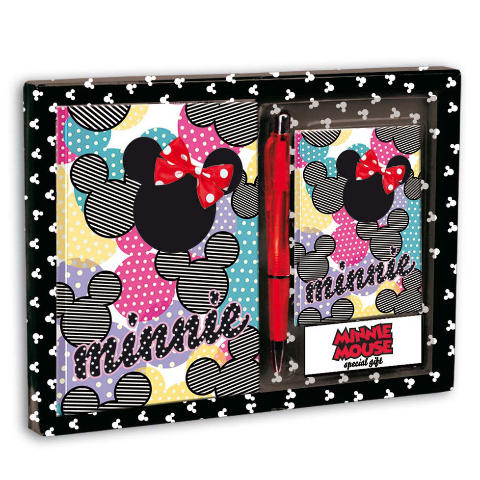SET DIARIO Y LISTIN MINNIE DISNEY FASHIONISTA