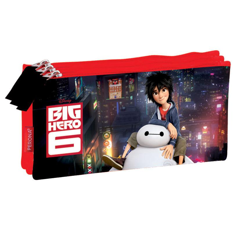 PORTATODO TRIPLE BIG HERO 6 DISNEY