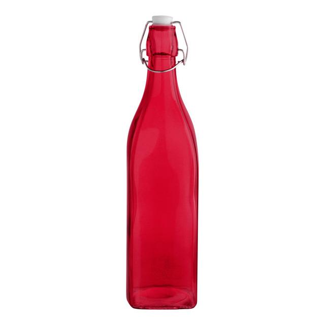 Botella con tapón Quid Colortronic 1 L ROJO