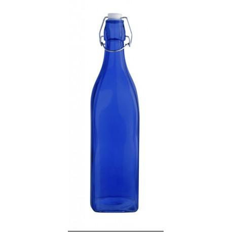 Botella con tapón Quid Colortronic 1 L AZUL