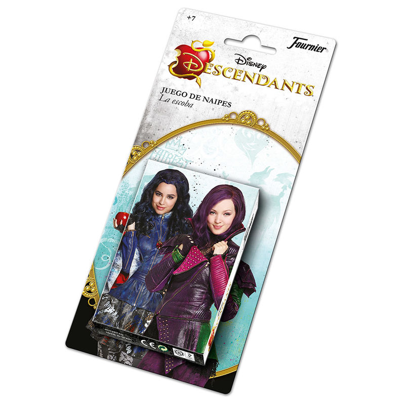 BARAJA DE NAIPES DESCENDANTS DISNEY