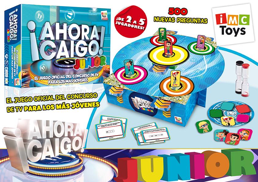 AHORA CAIGO JUNIOR - JUEGO DE MESA