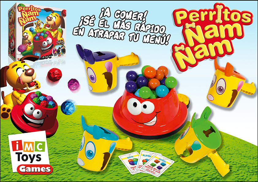 PERRITOS ÑAM ÑAM¬