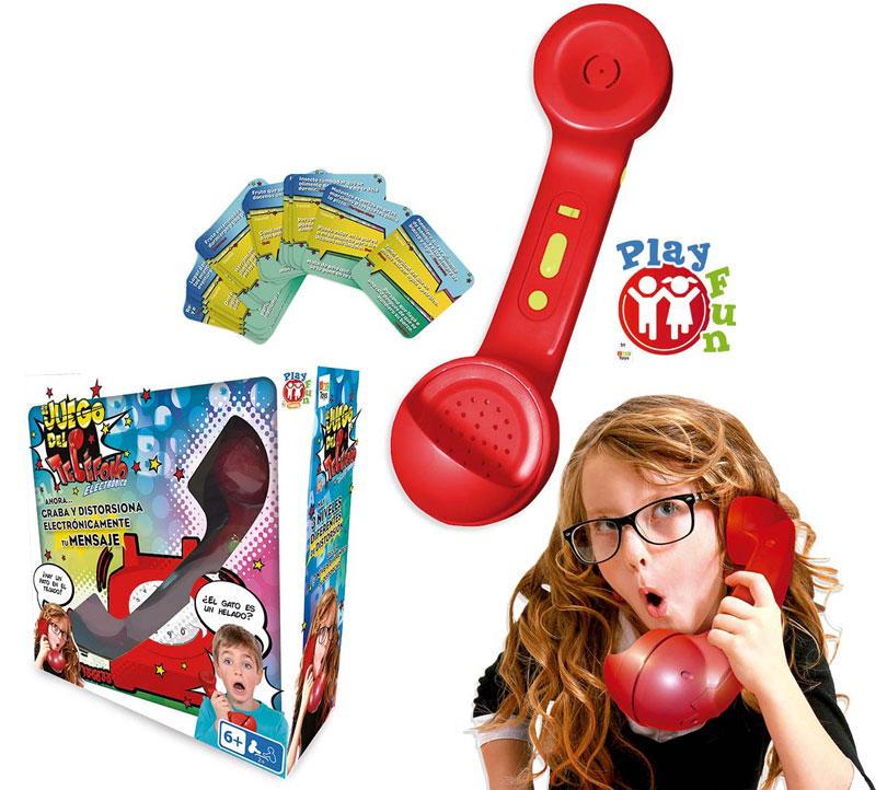 EL JUEGO DEL TELEFONO LOCO ELECTRONICO