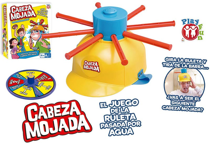 JUEGO CABEZA MOJADA¬
