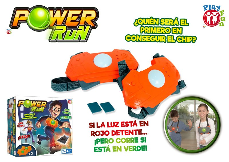 JUEGO POWER RUN¬