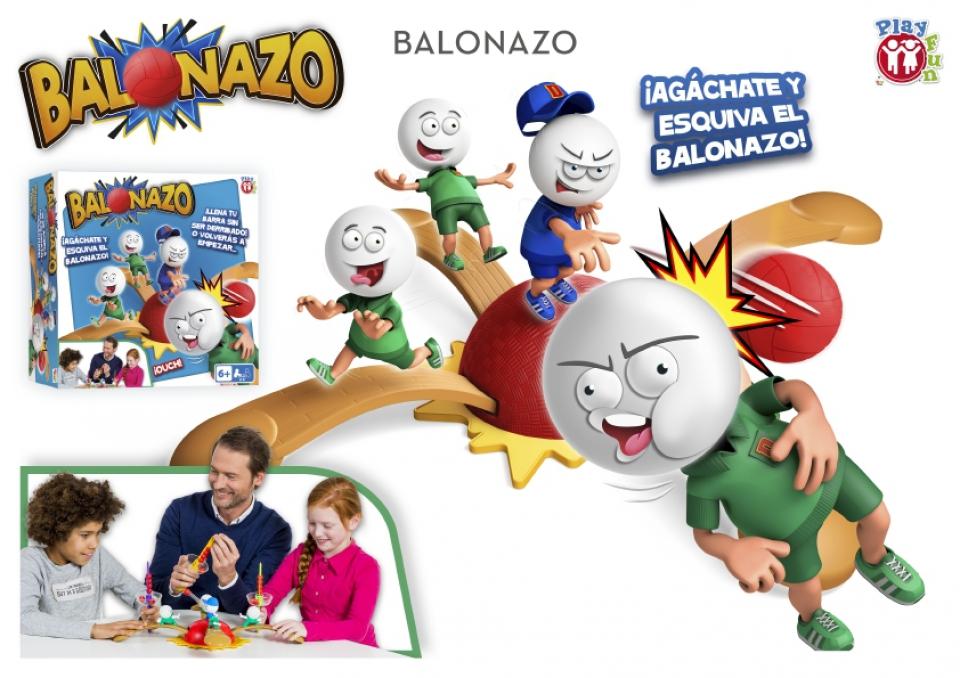 BALONAZO JUEGO DE MESA¬