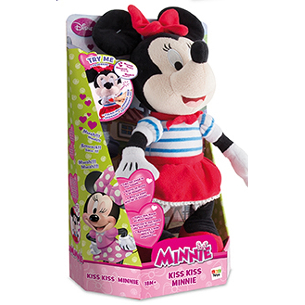 PELUCHE MINNIE KISS KISS