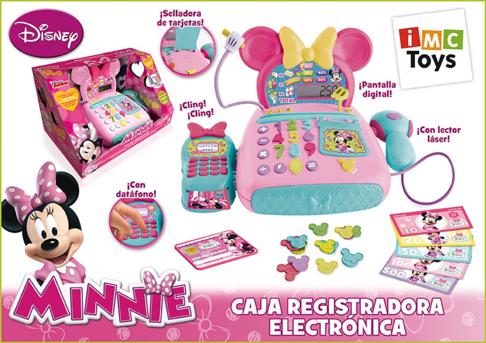 CAJA REGISTRADORA MINNIE CON TPV
