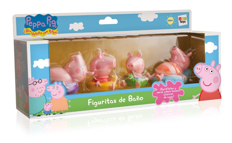 Figuritas para el baño Peppa Pig (4 figuras, surtido)